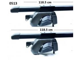 Багажник за кола с ключ 118,5 см