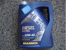 Mannol 10W40 Diesel Extra 5л / Масло Манол Дизел Екстра 10В40 5л