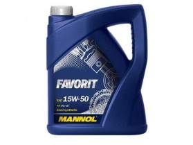 Mannol 15W50 Favorit 5l / Масло Манол Фаворит 15В50 5л
