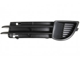 Audi A3 8P / Решетка предна броня лява без отвор за халоген за Ауди А3 8П 05.2005-05.2008