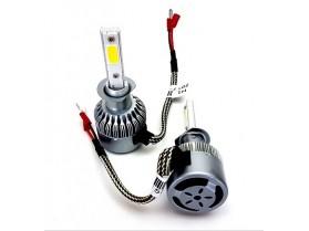 H1 C6 LED 3800 LM / Лед крушка Х1 Ц6 12-24 Волта 36 Вата 3800 ЛМ