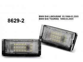 BMW 3 (E46) / Лед плафони за регистрационен номер за БМВ 3 Е46