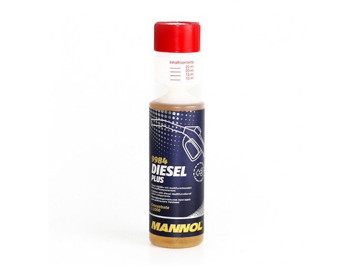 Mannol Diesel Plus / Добавка за почистване и повишаване на цетаново чисно - 0.250 мл