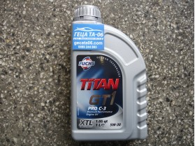 Fuchs Titan 5W30 GT1 C3 1L. / Масло Фукс Титан ГТ1 Ц3 5В30 1л.