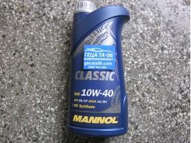 Mannol 10W40 Classic 1л / Масло Манол Класик 10В40 1л