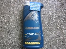 Mannol 15W40 Standard 1л / Масло Манол Стандард 15В40 1л