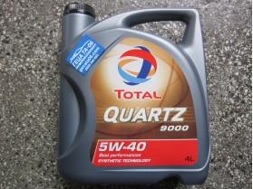 Total Quartz 9000 5w40 4л / Тотал Кварц 9000 5В40