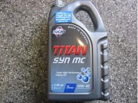 Fuchs Titan 10W40 5l / Масло Фукс Титан 10В40 5л